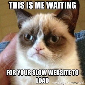 slow website speed